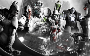 Batman Arkham City, Harley Quinn, video games, Two, Face, The Penguin
