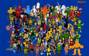 Teenage Mutant Ninja Turtles, The Simpsons, Batman, Daredevil, Venom, The Punisher