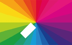 colorful, artwork, cover art, Jamie xx, digital art, spectrum