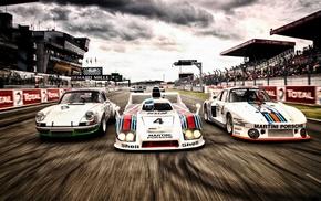 Porsche, car, race cars