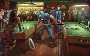 Superman, comics, Flash, Iron Man, Batman logo, Wolverine