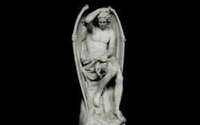 Lucifer, sculpture, Guillaume Geefs