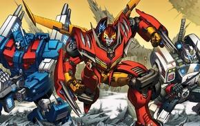 Transformers, artwork