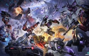 Transformers, artwork, Optimus Prime