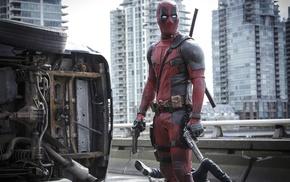 Marvel Comics, Deadpool, machine gun