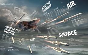 weapon, infographics, Sukhoi PAK FA, Sukhoi T, 50, PAK FA