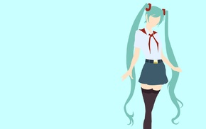 Everlasting Summer, Vocaloid, Hatsune Miku, anime, anime girls