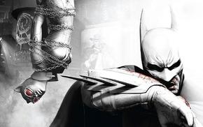 Batman Arkham City, Catwoman, Batman