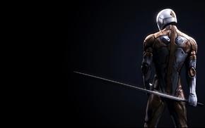 Metal Gear Solid, Gray Fox character, artwork, video games
