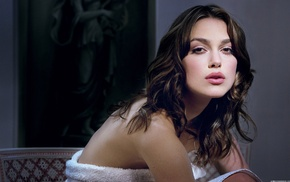 lingerie, girl, Keira Knightley, model