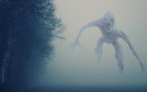 creepy, mist, creature, eerie