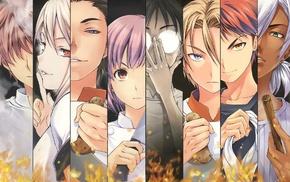 Marui Zenji, Shokugeki no Souma, Aldini Isami, Hayama Akira, Yukihira Soma, Aldini Takumi