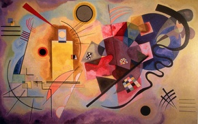 Wassily Kandinsky, classic art, colorful, artwork, painting