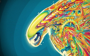 psychedelic, Alien movie, Matei Apostolescu
