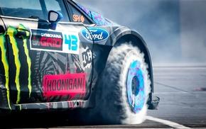 Ken Block, Ford Fiesta RS, race cars, car
