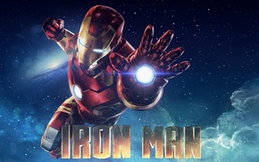 flares, Tony Stark, galaxy, Marvel Cinematic Universe, Iron Man 3, Iron Man