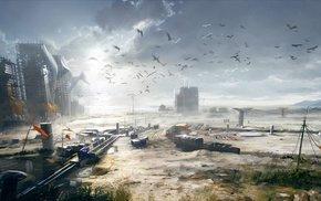 Battlefield, Battlefield 4, artwork, video games