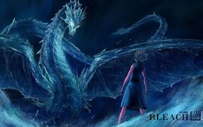 dragon, ice, Hitsugaya Toshiro, Bleach