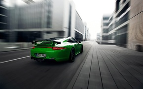 motion blur, road, Porsche 911 Carrera 4S, Porsche 911, car, Porsche