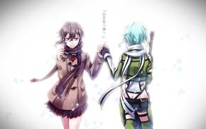 Asada Shino, anime girls, Sword Art Online