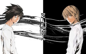 Yagami Light, Lawliet Lawsford, Death Note