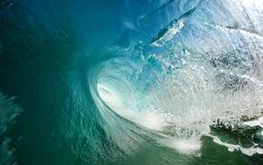 sea, landscape, turquoise, nature, liquid, waves