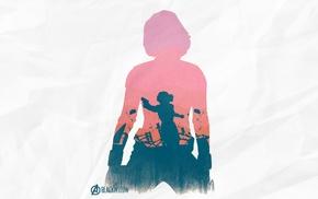 silhouette, The Avengers, Black Widow