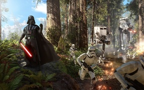 Star Wars, stormtrooper, Galactic Empire, Star Wars Battlefront, Darth Vader, EA DICE