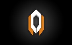 Cerberus, symbols, Mass Effect, icon, black