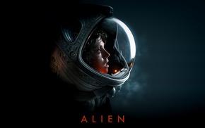 science fiction, space suit, Xenomorph, artwork, Sigourney Weaver, Ellen Ripley