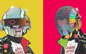 music, Daft Punk, cyborg