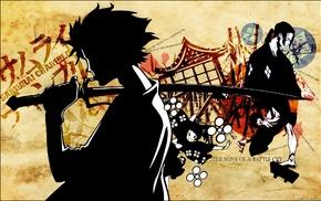 Samurai Champloo, anime, Jin, Mugen