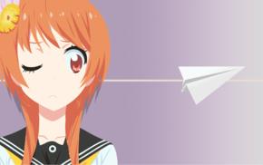 manga, anime girls, Tachibana Marika, Nisekoi, anime