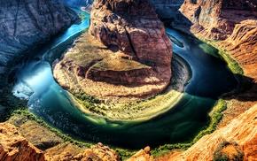 river, nature, Grand Canyon