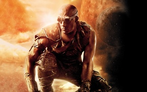 digital art, The Chronicles of Riddick, movies, Riddick
