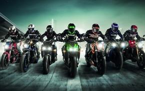 vehicle, artwork, KTM Duke 125, KTM, racing, motorcycle