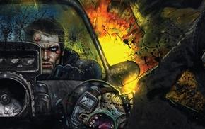car, explosion