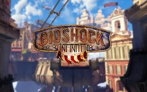 BioShock, consoles, blue, BioShock Infinite, Columbia Bioshock, gamers