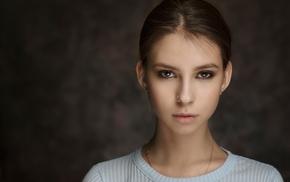 Elena Aksenova, girl, portrait, model, nose rings