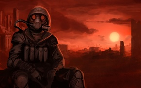 futuristic, apocalyptic, artwork