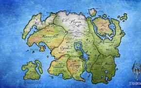 map, The Elder Scrolls IV Oblivion, Elder Scrolls, The Elder Scrolls V Skyrim, The Elder Scrolls III Morrowind, Tamriel