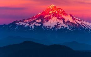 mountain, landscape