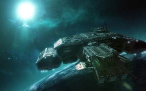 Apollo, Stargate, spaceship, science fiction
