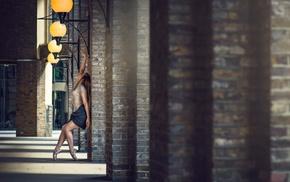 ballet slippers, Marine Fauvet, girl, Dimitry Roulland, ballerina