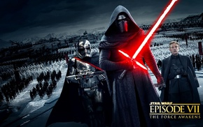 Star Wars Episode VII, The Force Awakens, Captain Phasma, science fiction, clone trooper, Star Wars