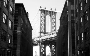 Manhattan Bridge, Brooklyn, New York City