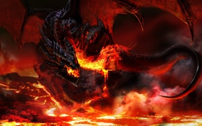 World of Warcraft, video games, dragon, Dragon Wings, wings, fantasy art