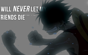 Monkey D. Luffy, anime, One Piece