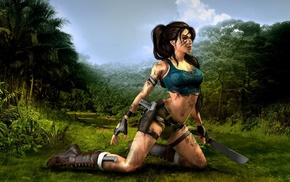 Lara Croft, artwork