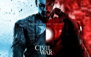 Iron Man, Captain America